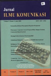 Jurnal Ilmu Komunikasi Repository Civitas Ugm